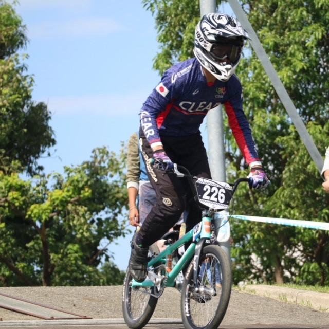 BMX全日本強化選手の中尾海斗選手